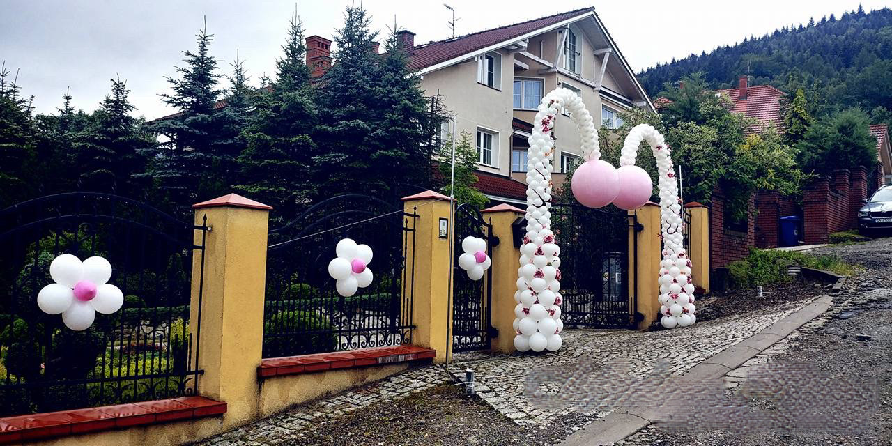 Dekoracja Domu Moderndeco Dekoracje Balonowe Na Wesele Imprezę 18 Oraz Dekorowanie Sali Weselnej