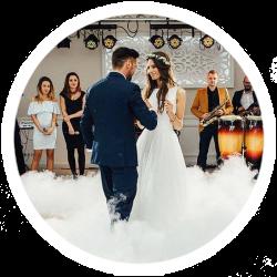 dym na wesele taniec